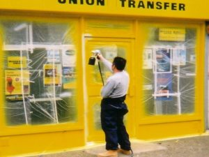 Shopfront Spraying Oxfordshire