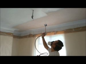 Ceiling Spraying Oxfordshire